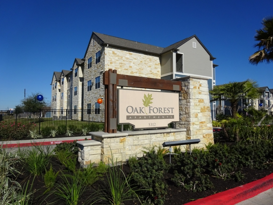 OAK FOREST APARTMENTS SOLD AND CLOSED